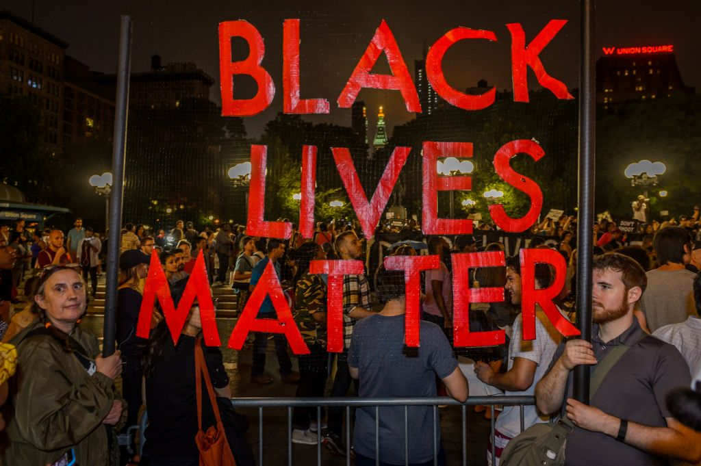For the third day in a row the Black Lives Matter movement...