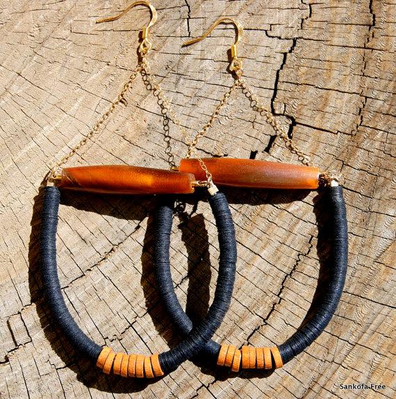 Sankofafree Tribal Earring