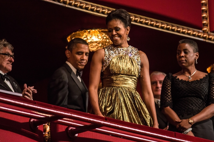 Obama Attends 35th Annual Kennedy Center Honors