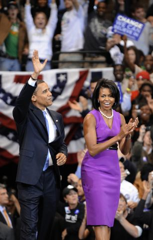 Democratic presidential candidate US Sen