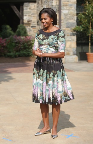 Michelle Obama Hosts Farm-To-Table Lunch For Spouses Of World Leaders