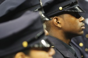 A New Class Of Police Officers Graduates In New York City