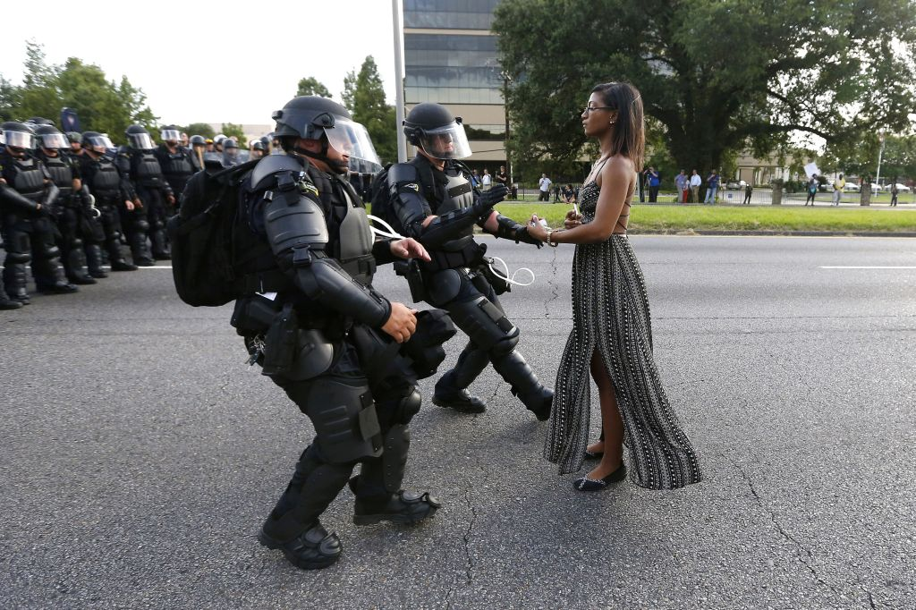 FOR HB USE ONLY: Baton Rouge Protester
