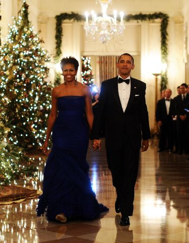 US President Barack Obama and First Lady