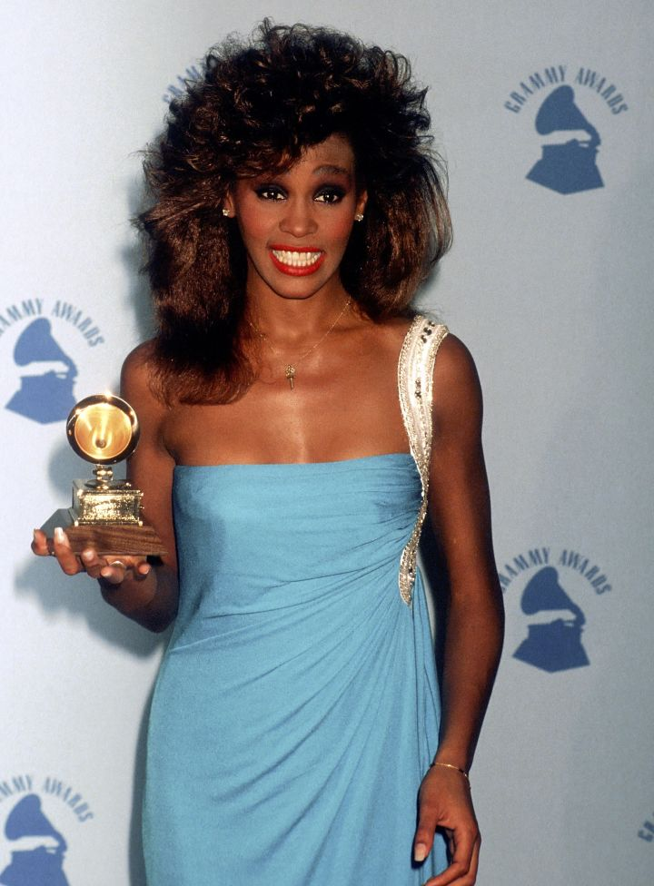 Whitney Houston In 1986