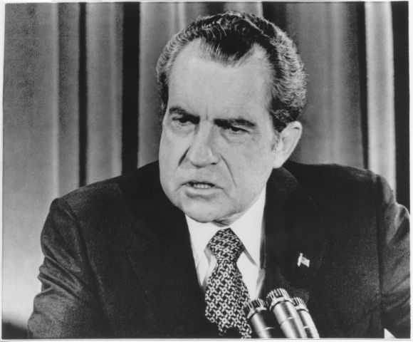 Richard Nixon President Usa Watergate