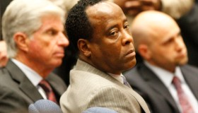 LOS ANGELES, CA NOVEMBER 7, 2011 –– Dr. Conrad Murray remained expressionless after the jury returne