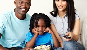 Catching a family movie