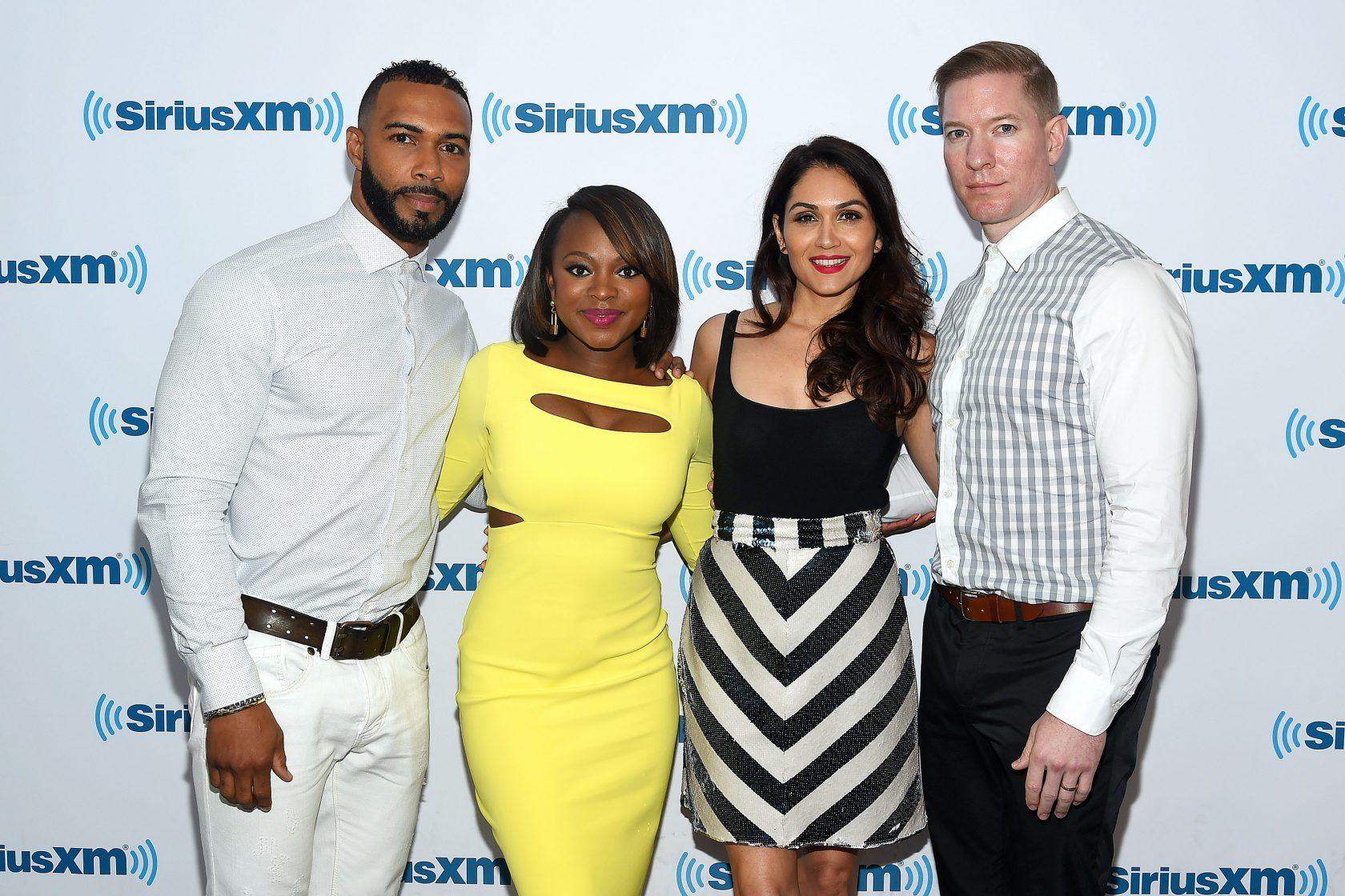 Celebrities Visit SiriusXM - July 14, 2016
