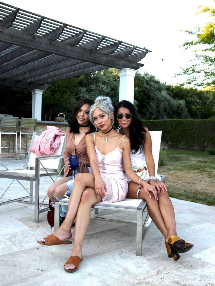 Raissa Gerona, Amy Phan & Andria Kitti