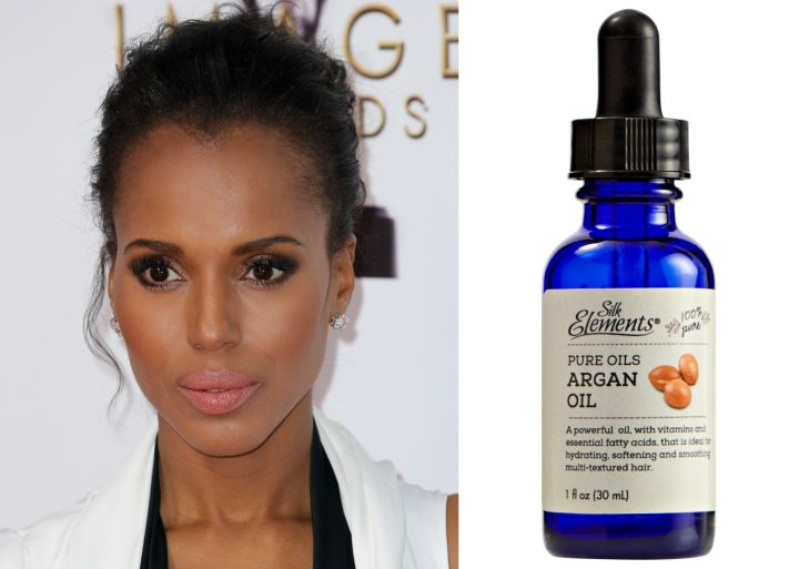 Get Kerry Washington's Tousled Look With Silk Elements™ Pure Oils Argan Oil