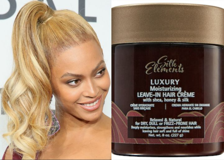 Achieve Beyoncé's Neat Ponytail With Silk Elements™ Luxury Moisturizing Leave-In Hair Crème