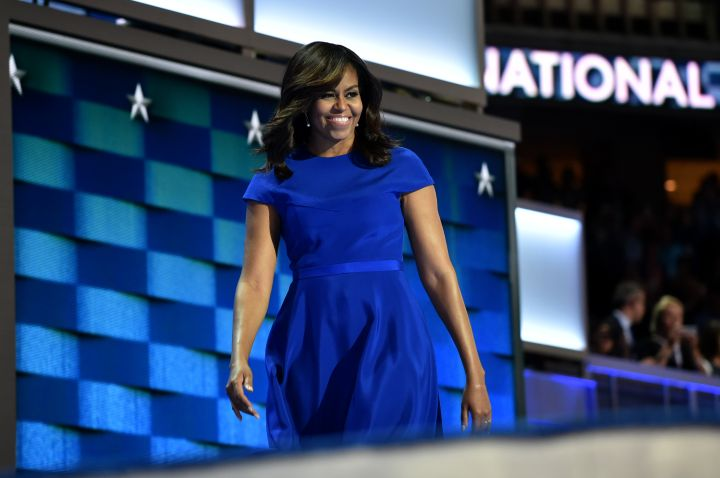Former First Lady Michelle Obama, 2016 Democratic National Convention
