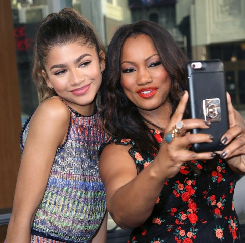 Zendaya, Basketball Wives, Shaunie O'Neal And Jackie Christie Visit Hollywood Today Live
