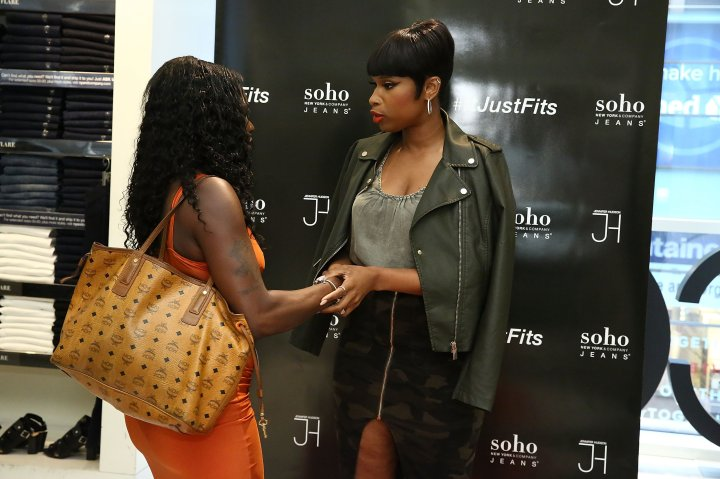 Jennifer Hudson Celebrates 1 Year Anniversary Of Soho Jeans Collection