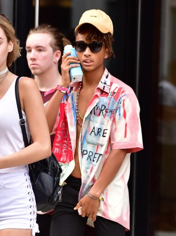 Celebrity Sightings in New York City - July 24, 2016
