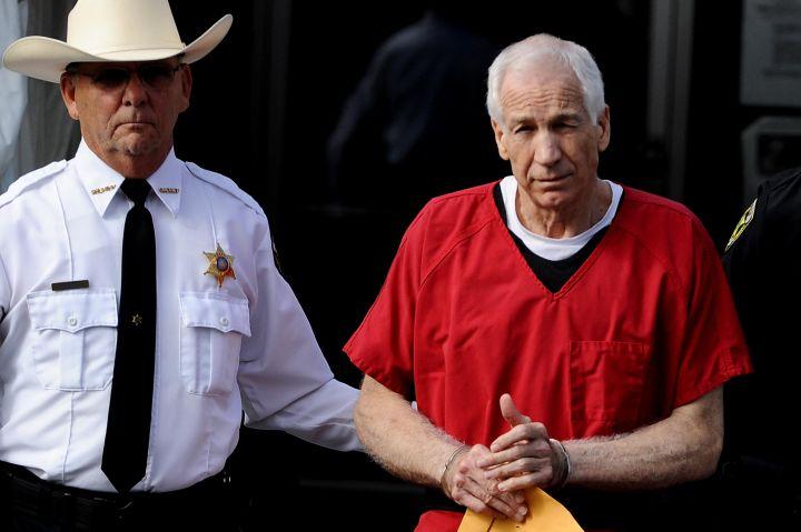 Jerry Sandusky Sentenced In Major Child Molestation Case