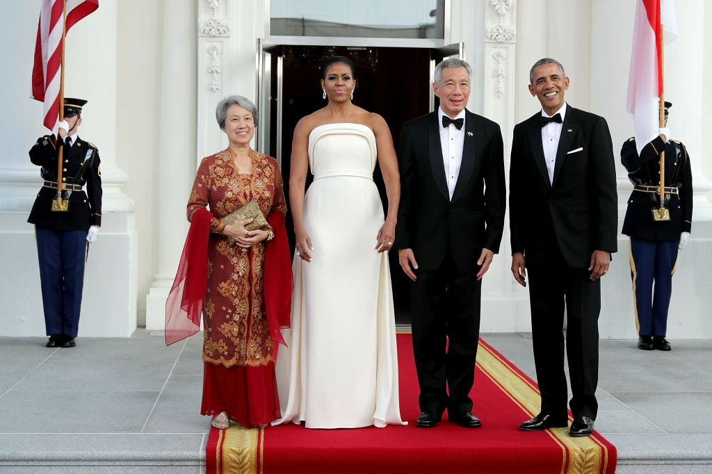 President Obama Hosts State Dinner For Singapore's Prime Minister Lee Hsien Loong