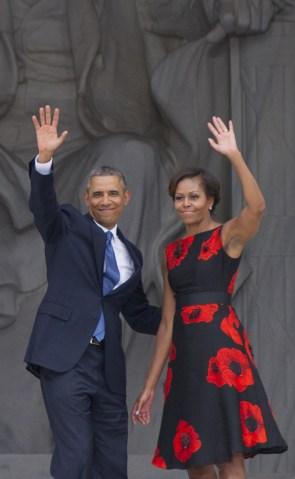 US-POLITICS-MLK-MARCH-ANNIVERSARY