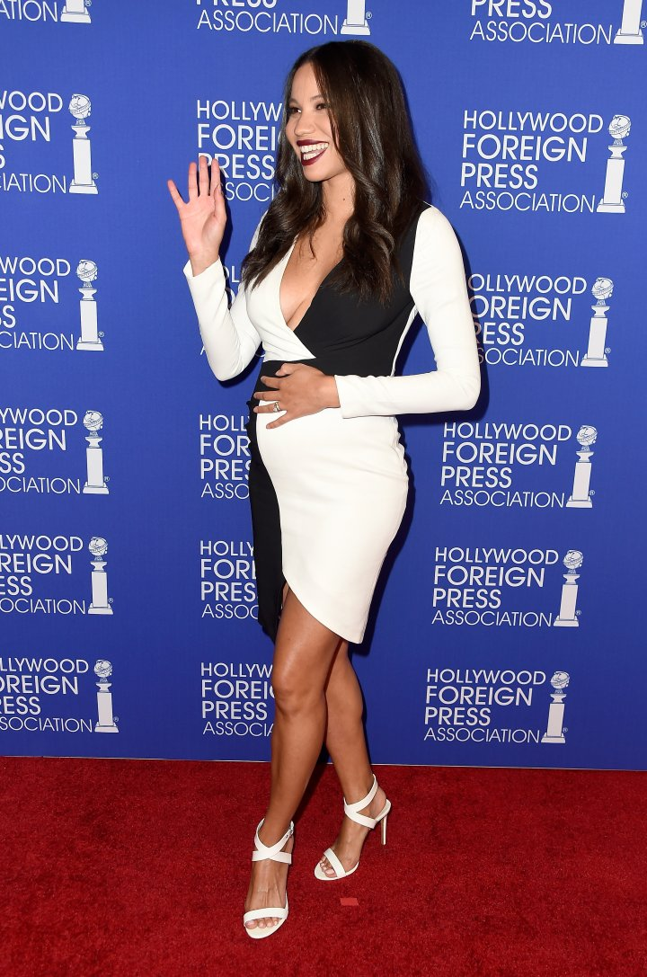 Jurnee Smollett-Bell attends the Hollywood Foreign Press Association's Grants Banquet