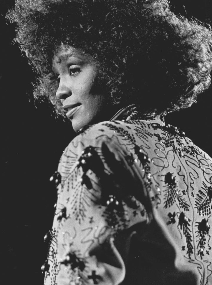 Whitney In 1988