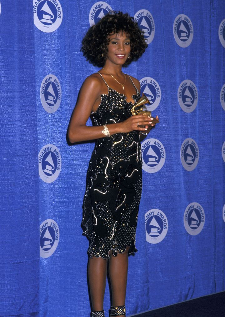 Whitney Houston In 1988