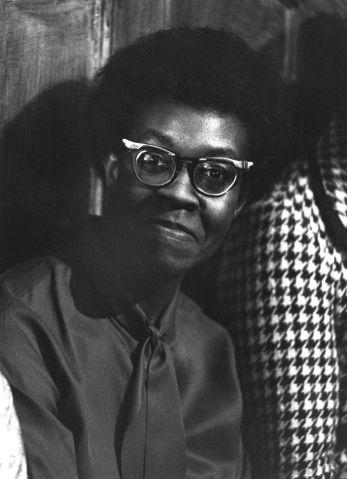 Portrait Of Gwendolyn Brooks