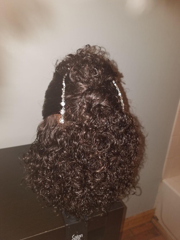 DIY Wedding Hairstyle