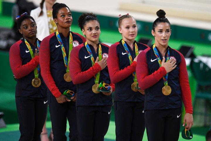 Rio 2016 women's team gymnastics