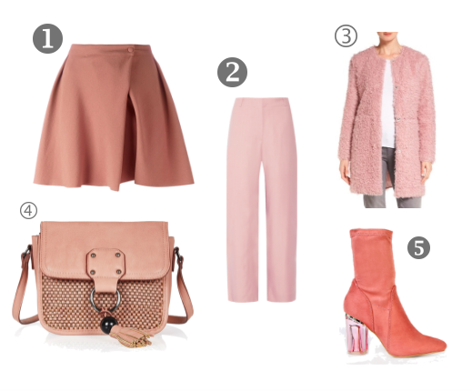 Dusty Pink Fall Trends 2016