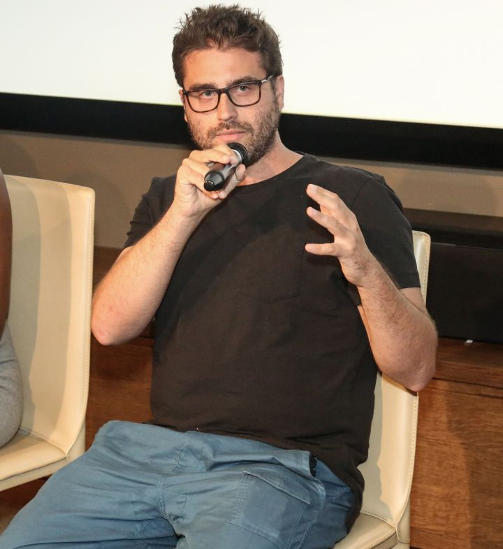 Director Richard Tanne speaks during HelloBeautiful's Q&A for 'Southside with You'