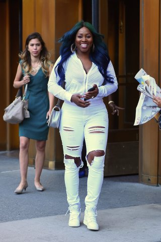 Celebrity Sightings in New York City - August 23, 2016