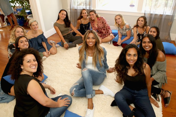 Keds Collective Member Ciara Leads A Discussion With Young Women From I AM THAT GIRL In Celebration Of Women's Equality Day