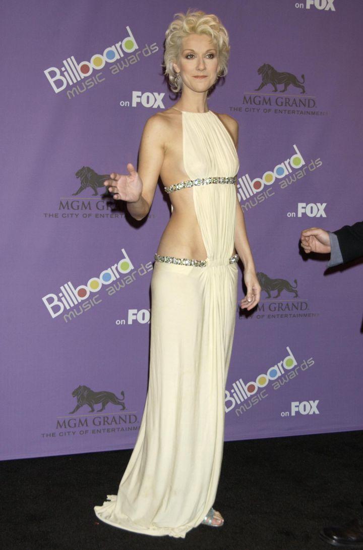 Celine Dion at The 2003 Billboard Music Awards