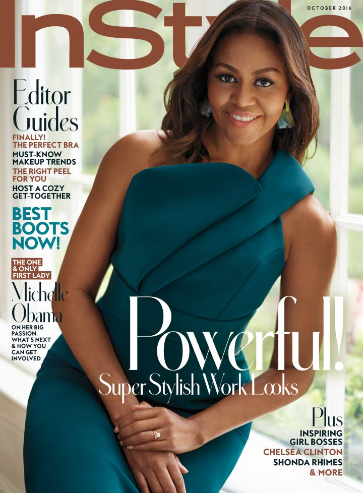 Michelle Obama Covers InStyle