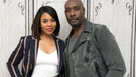 The BUILD Series Presents Regina Hall And Morris Chestnut Discussing The New Film 'When the Bough Breaks'