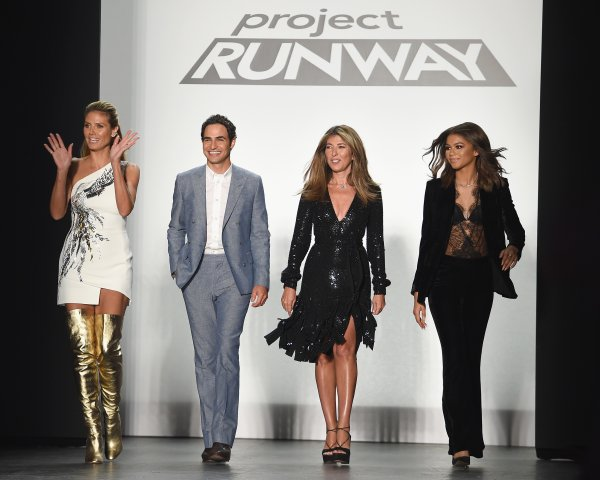 Project Runway - Front Row - September 2016 - New York Fashion Week: The Shows