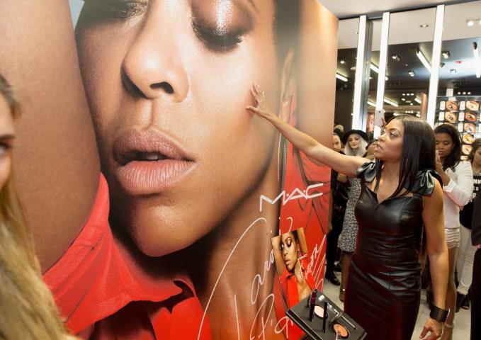 M.A.C Cosmetics Event With Taraji P. Henson At M.A.C Michigan Avenue