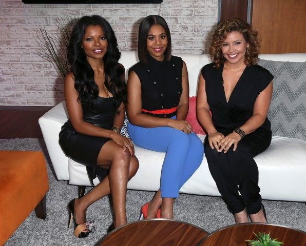 Regina Hall And Justina Machado Visit Hollywood Today Live