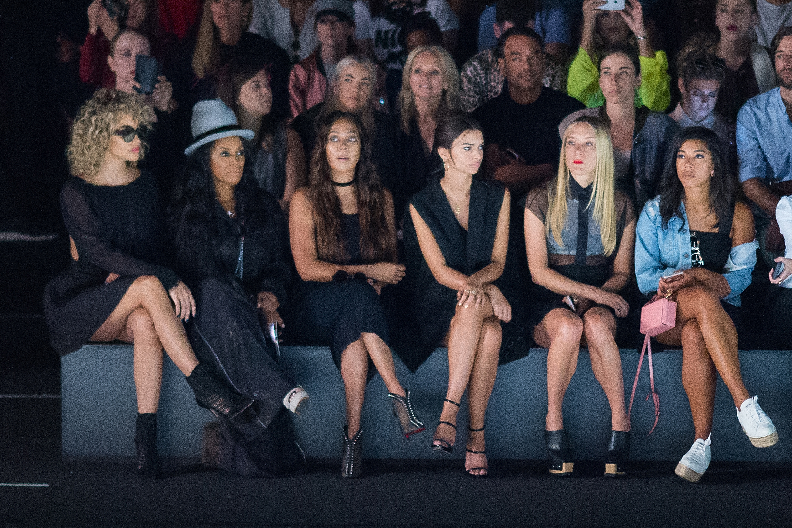 Vera Wang Collection - Front Row & Backstage - September 2016 New York Fashion Week: The Shows