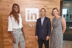 Venus Williams And Sallie Krawcheck Sit Down With LinkedIn Executive Editor Dan Roth