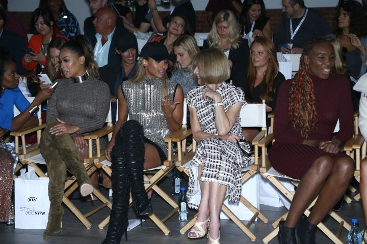 HSN Presents Serena Williams Signature Statement Collection Fashion Show at Kia STYLE360 New York Fashion Week