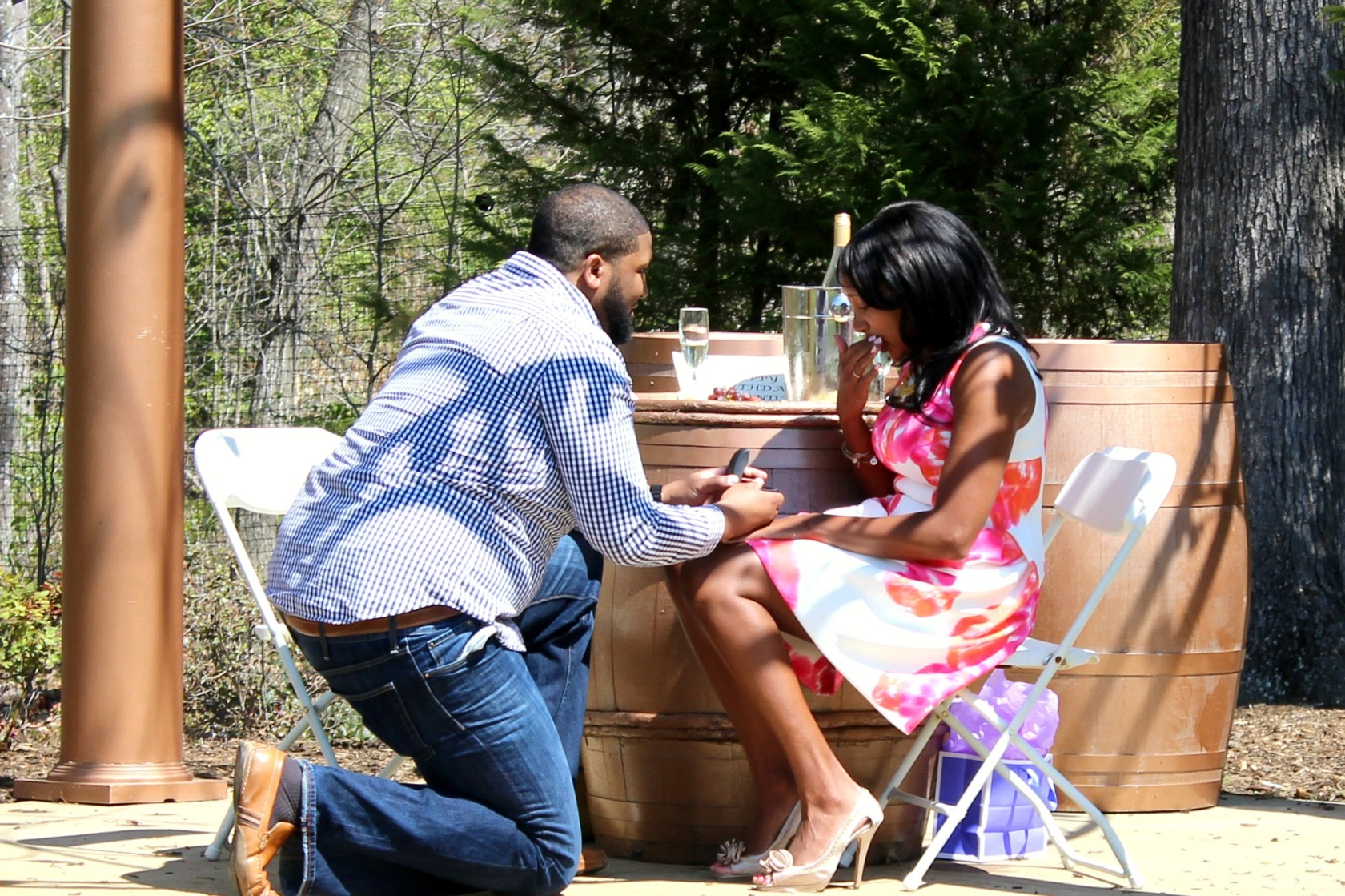 Put A Ring On It - Yolonda & Eric Proposal
