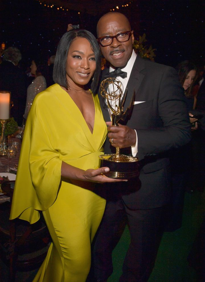 When Courtney B. Vance Yelled That Angela Basset Has Been 'Rocking His Chain'