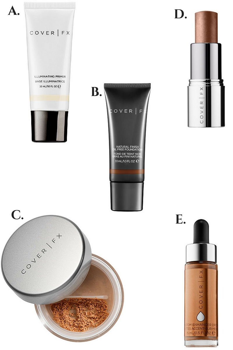 COVER FX Illuminating Products