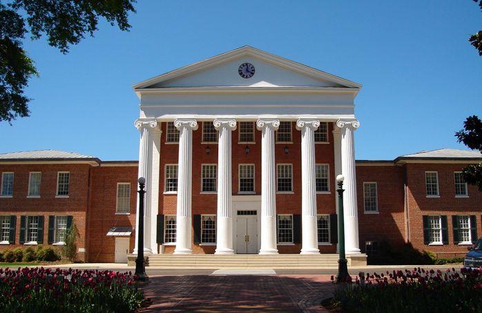 University Of Mississippi Rebels Campus