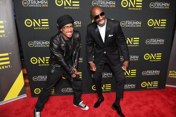 NICK CANNON and JB SMOOVE