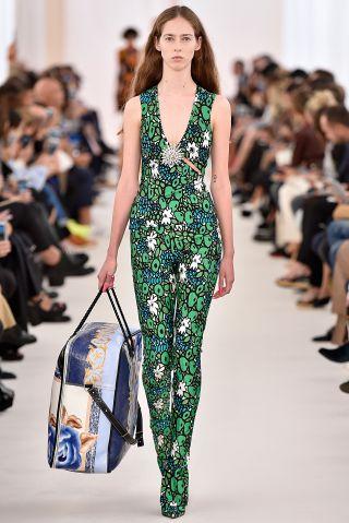 Paris - October 2: Paris Fashion Week, Balenciaga Spring/Summer