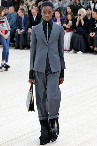 Paris - October 2: Paris Fashion Week, Celine Spring/Summer 201