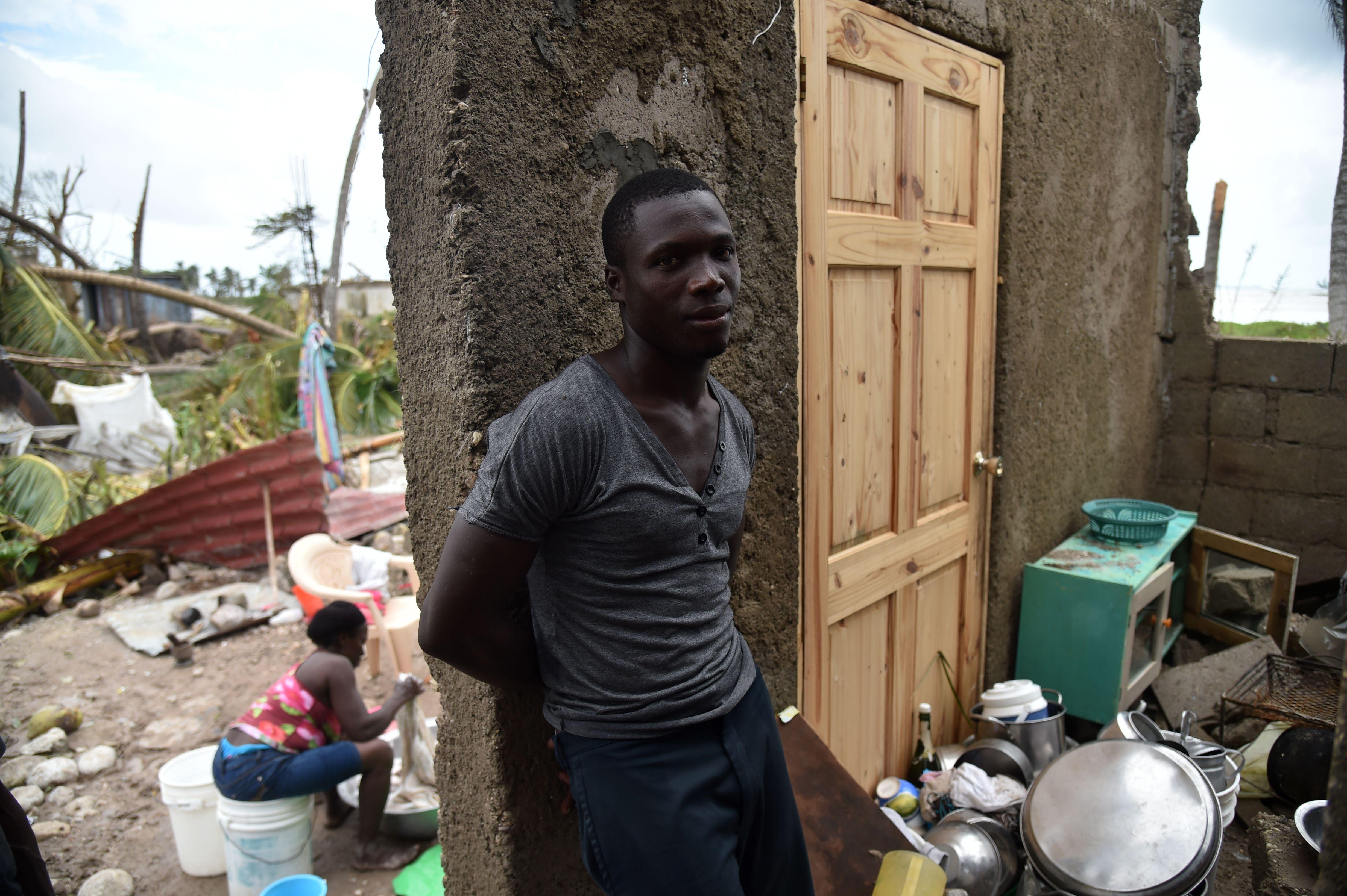 HAITI-WEATHER-HURRICANE-CARIBBEAN-DESTRUCTION